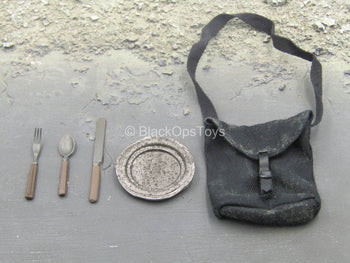 146th N.Y. Zouave Infantry - Weathered Pouch w/Silverware Set
