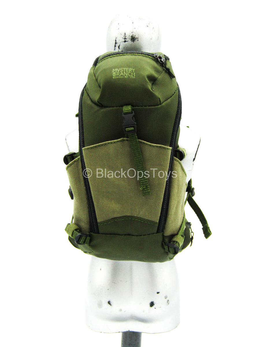 Green Backpack 1//6 scale toy French Special Forces COS RIPMA