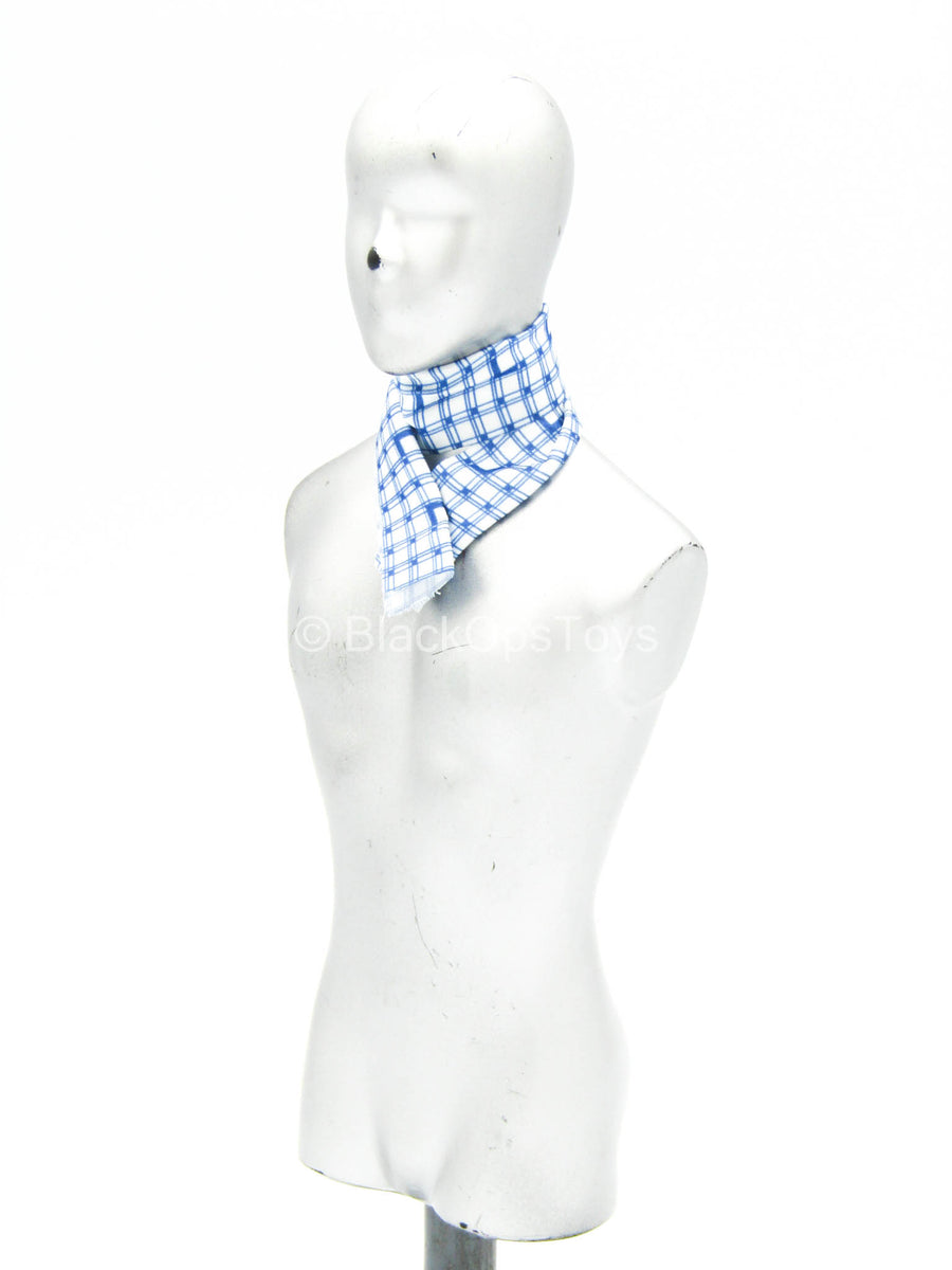 Superman - Lex Luthor - Blue Plaid Scarf