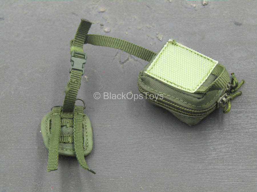 Russian SSO - Green Quick Detach IFAK Pouch w/Tourniquet