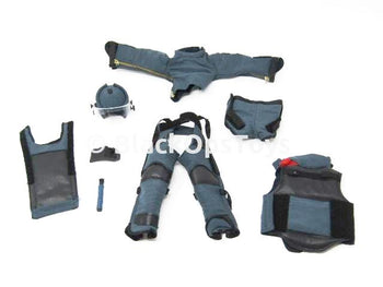 "Dragon HK Police EOD Bureau ""Jimmy"" Bomb Disposable Protective Combat Uniform Set"