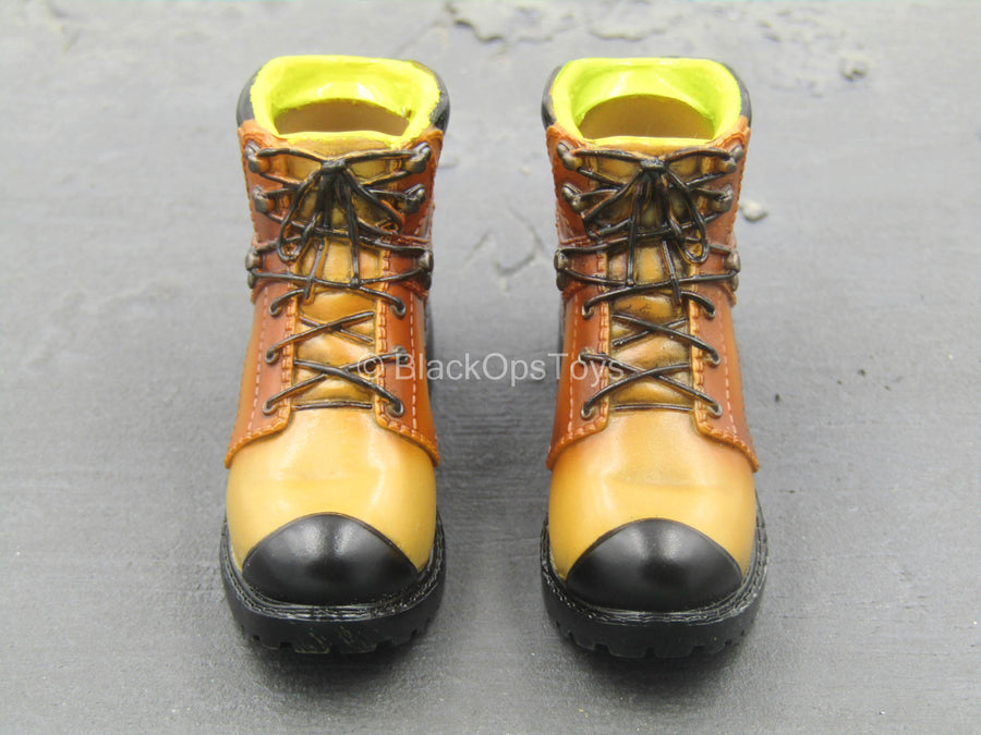 Gangsters Kingdom Spade 5 - Molded Combat Boots (Peg Type)