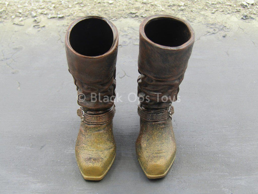 DC Comics - Jonah Hex - Brown Boots w/Molded Spurs