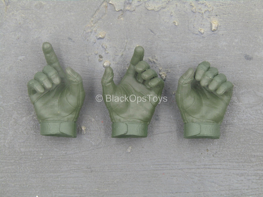 Russian SSO - Green Gloved Hand Set