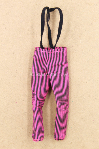 1/12 - The Joker - Crime Prince - Black & Pink Striped Pants