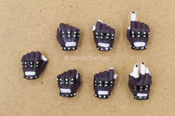 1/12 - The Joker - Crime Prince - Fingerless Gloved Hand Set (x7)