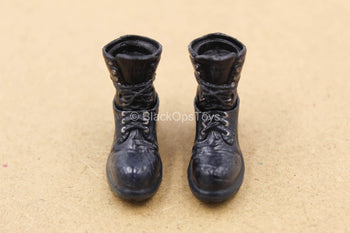 1/12 - The Joker - Crime Prince - Black Punk Boots (Peg Type)