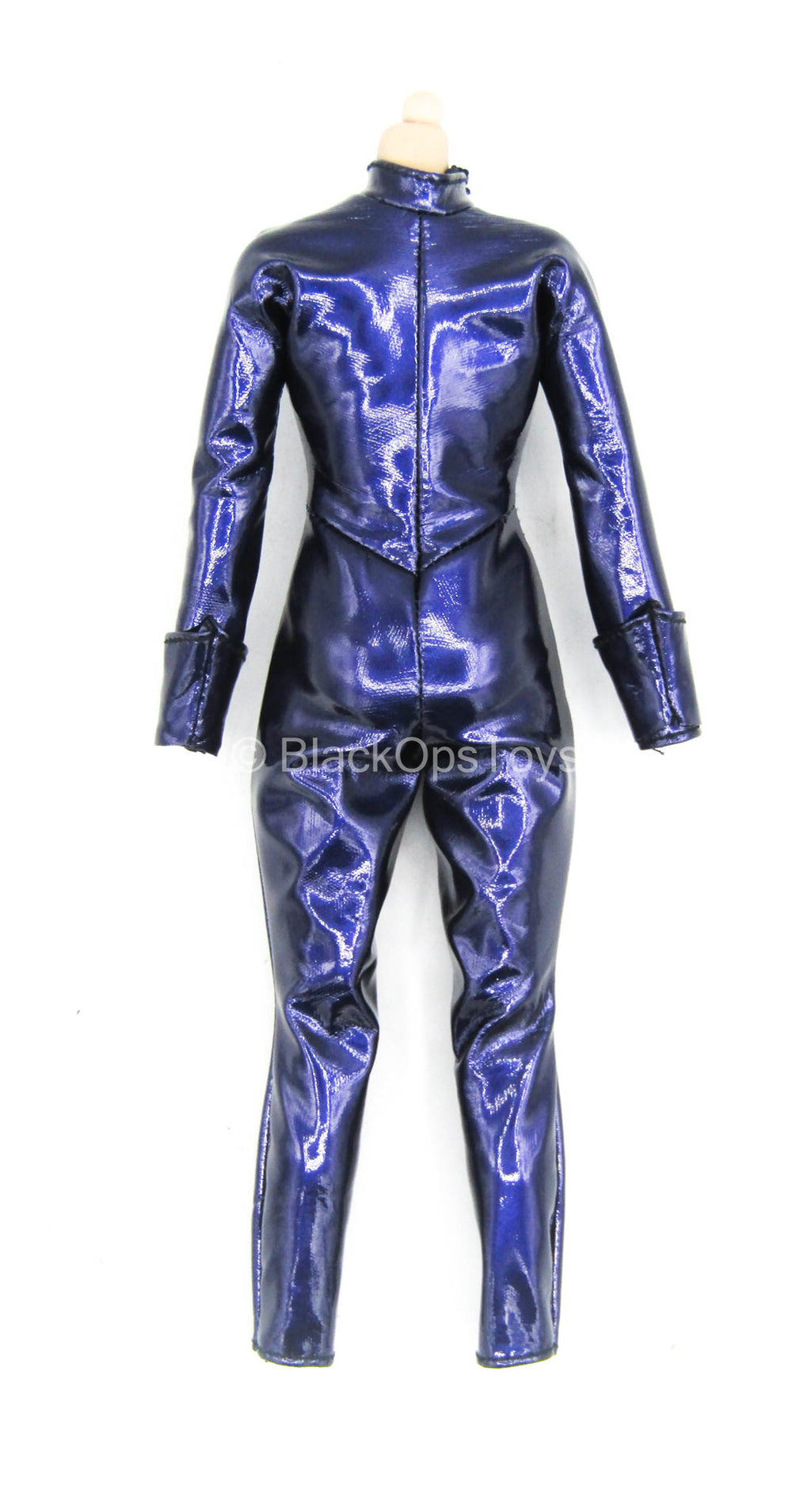 Comic Book Catwoman - Female Purple Leather Like Body Suit