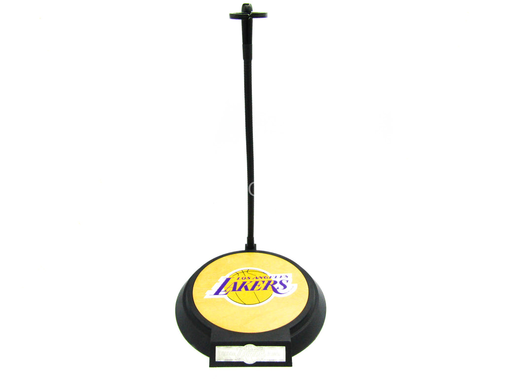 Los Angeles Lakers - LeBron James - Base Figure Stand w/Wooden Base