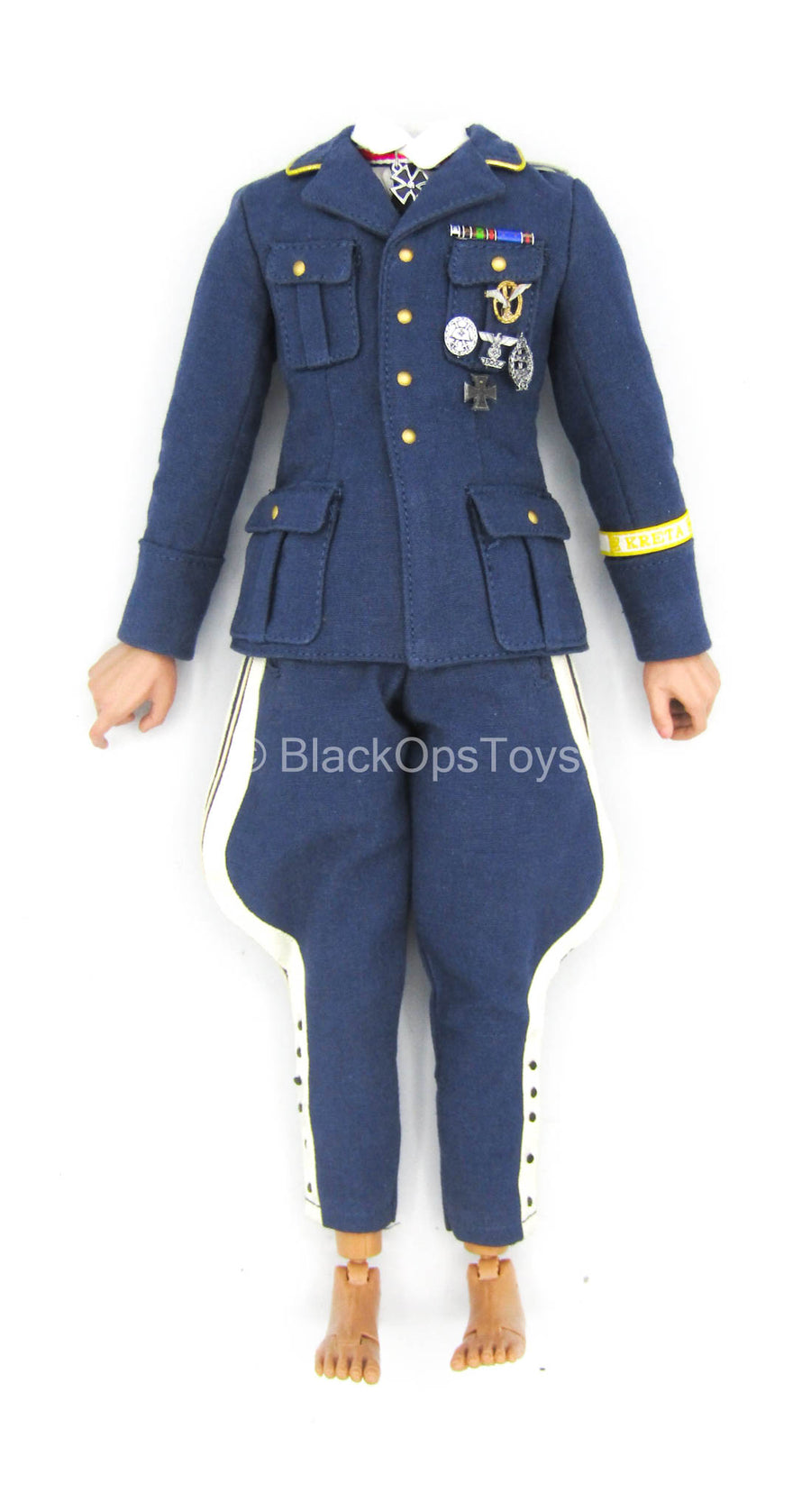 WWII - German General Kurt Arthur - Male Body w/Blue Uniform