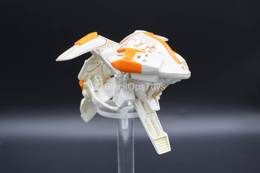 Zero Metal Chronicle - Falcon Z1 - White & Orange Chest Armor