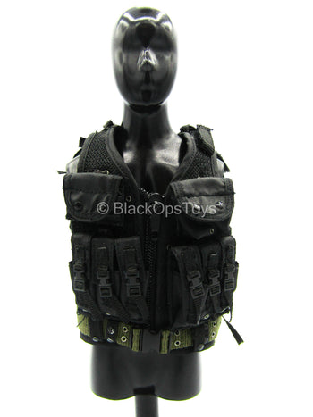 Seal Team 5 VBSS Team Leader - Black Combat Vest