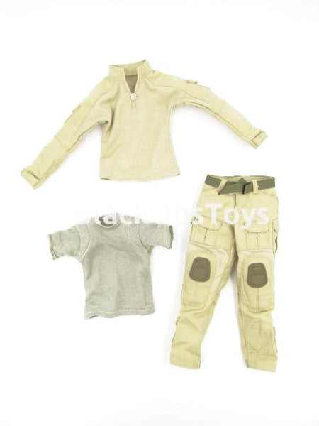 Green Wolf Gear GALAC-TAC Desert Raider Tan Combat Uniform Set