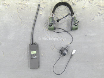 U.S. Army Green Beret ODA721 - PRC-148 Radio w/Head Set