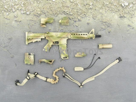 Green Wolf Gear GALAC-TAC Desert Raider M4 L119A1 Rifle Set