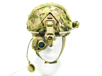 Multicam Helmet w/NVG Set