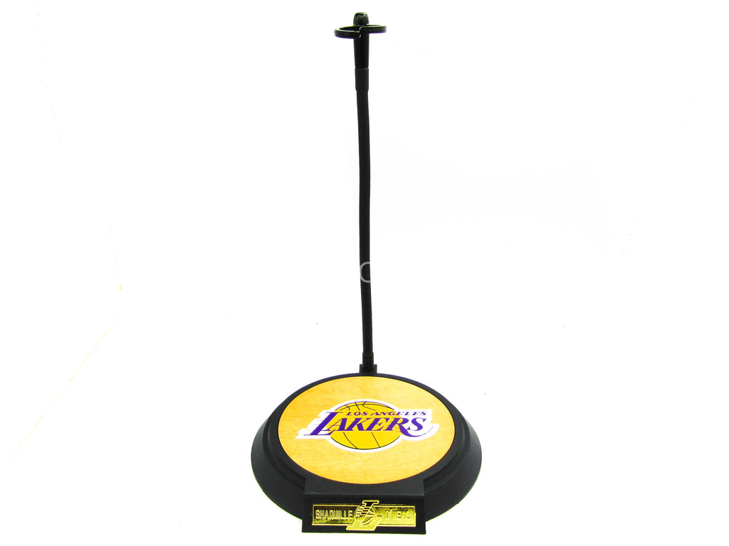 Los Angeles Lakers - Shaq - Base Figure Stand w/Wooden Base