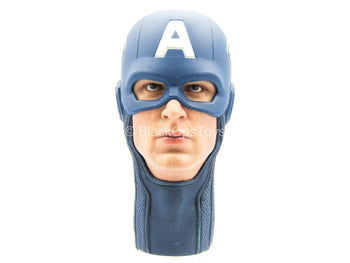 The Avengers - Captain America - Male Masked Head Sculpt