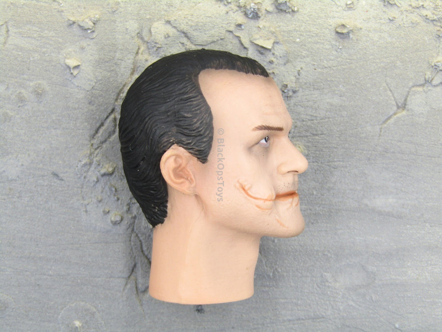 The Dark Knight Joker Police Heath Ledger Likeness Head Sculpt