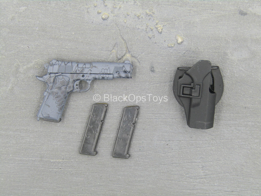 Private Military Contractor - Kryptek Typhon 1911 Pistol w/Holster