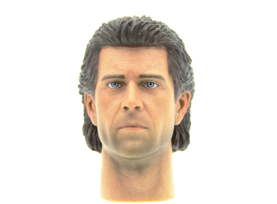 Lethal Weapon - Martin Riggs Head Sculpt in Likeness of Mel Gibson