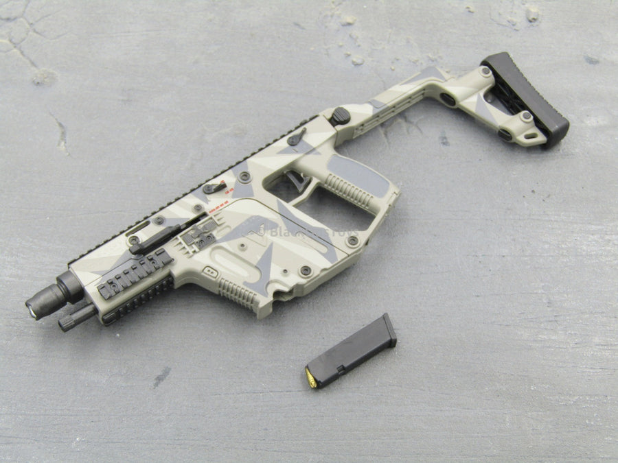 1/6 Scale KRISS Vector Tactical Submachine Gun SMG (Urban Camo)