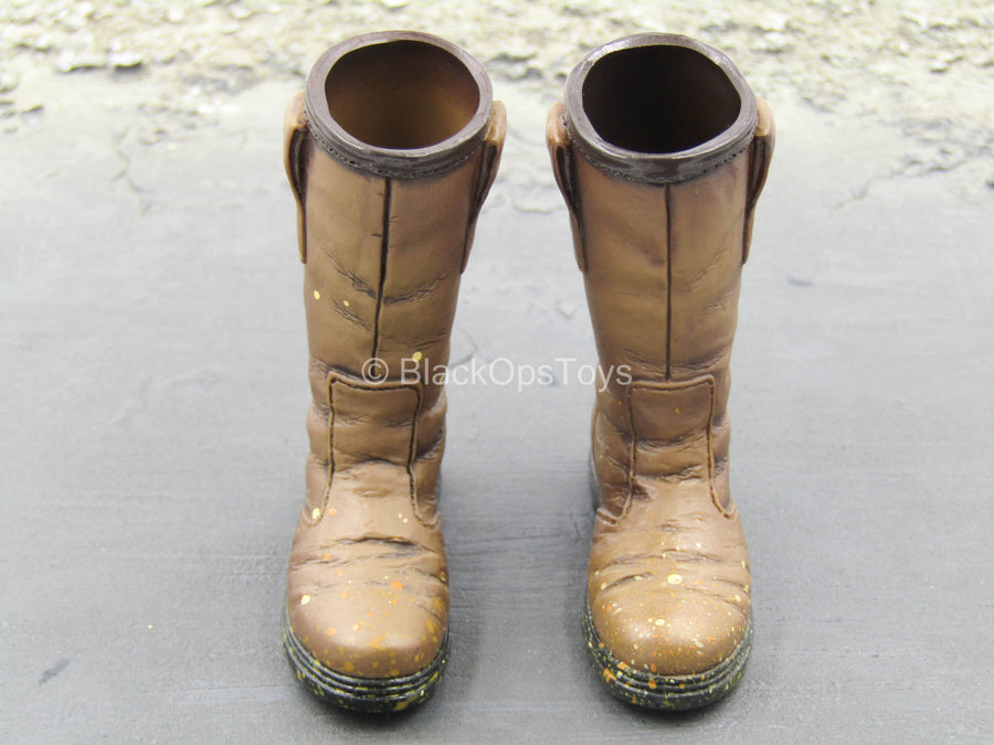 Brothersworker - Smart - Brown Weathered Boots (Foot Type)
