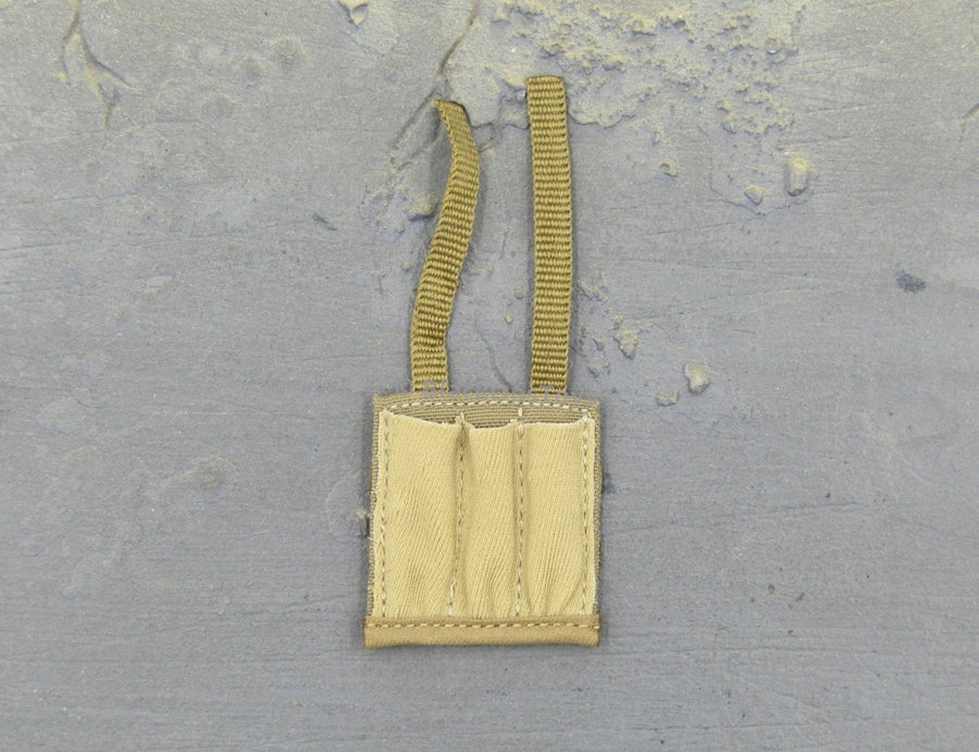 1/6 Scale KRISS Vector Tan SMG Triple Mag MOLLE Pouch