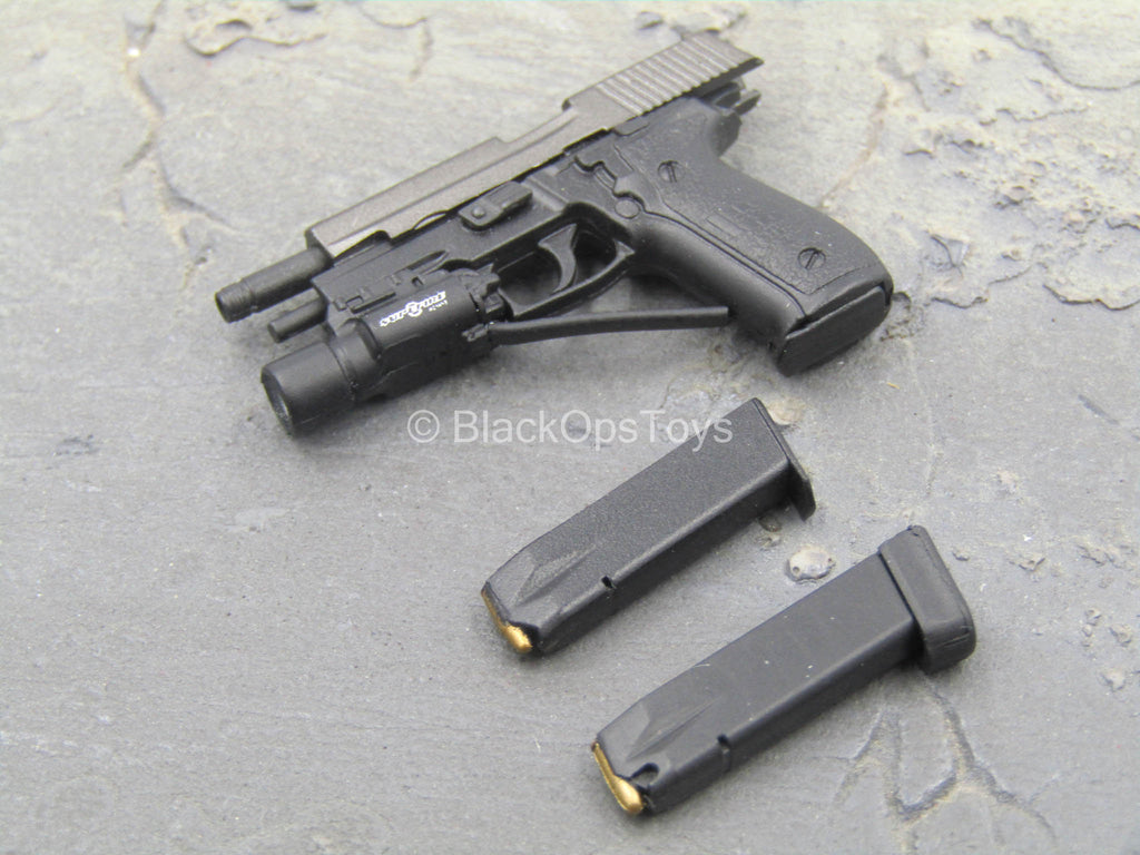 NSW Winter Warfare - P226 Pistol w/Tac Light