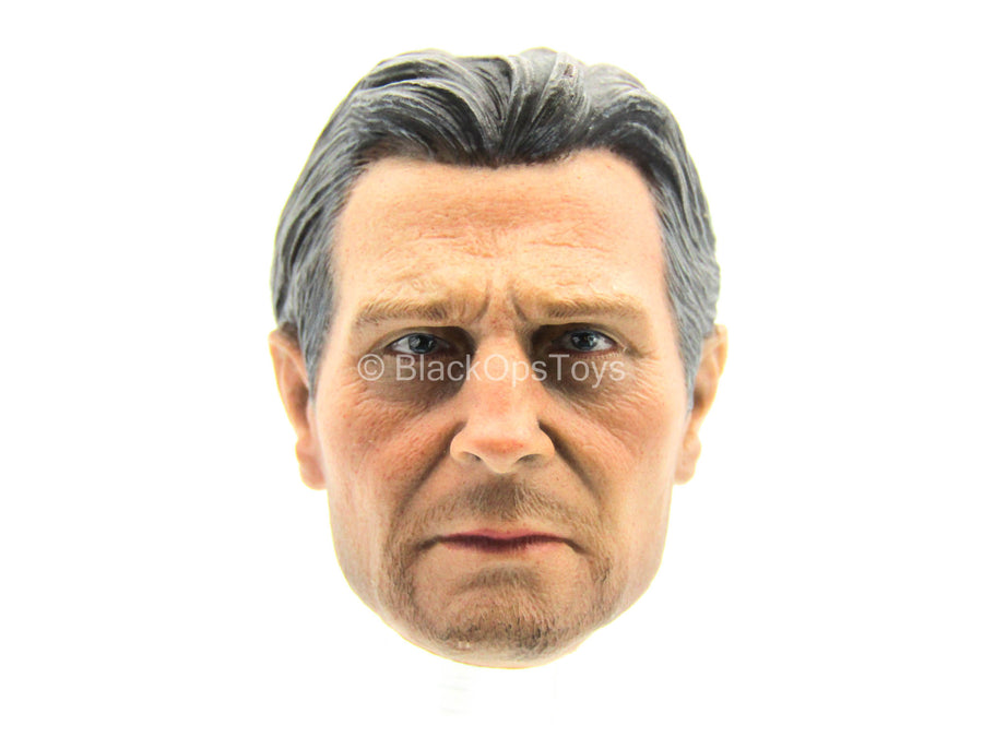 Taken - Male Head Sculpt w/Liam Neeson Likeness