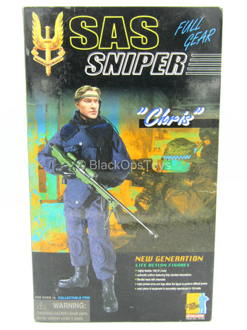 SAS Sniper Chris - MINT IN BOX