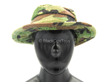 Navy Seal Riverine Ops Rifleman - Woodland Camo Boonie Hat