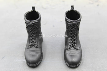 British SAS - Sniper - Black Combat Boots (Foot Type)