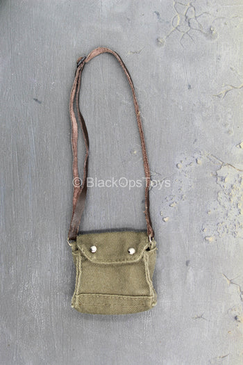 Indiana Jones - Green Bag w/Brown Leather-Like Strap