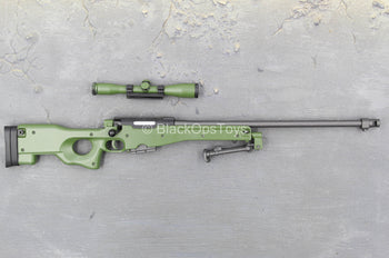 British SAS - Sniper - OD Green AWM Sniper Rifle