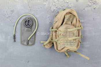 Iraq - Black Knight Spec. Ops. - Tan Backpack w/Hydration Pouch