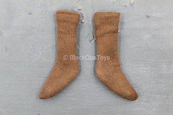 Indiana Jones - Brown Socks (Foot Type)