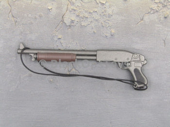 One Sixth Scale Model Sawed-Off Pistol-Grip Shotgun
