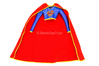 Supergirl - Blue Top w/Red & Yellow Cape