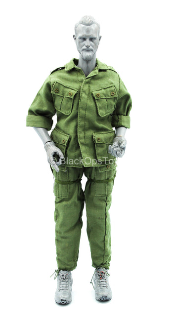 USMC - Vietnam Nate - OD Green Uniform Set w/Straps