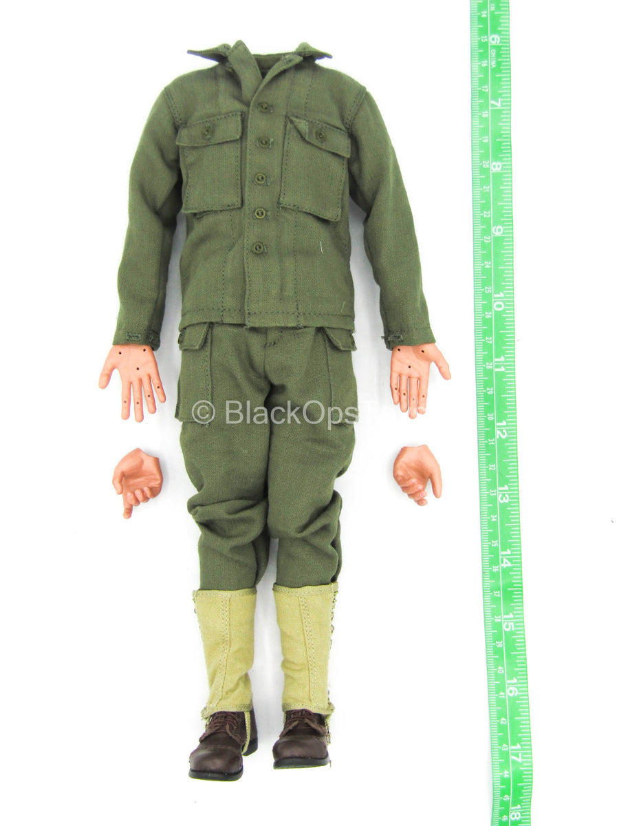 WWII - US 2nd Ranger Battalion - Male Dressed Body