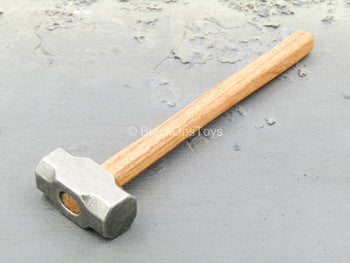 Metal Sledgehammer w/Wood Like Handle