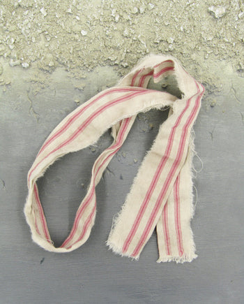 Pirates of The Caribbean Jack Sparrow Red Striped Scarf