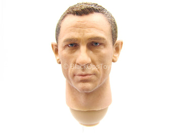 007 - No Time To Die - Grey Version - Male Head Sculpt
