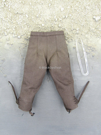 Pirates of The Caribbean Jack Sparrow Brown Pants w/Tweezers