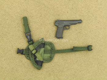 1/12 - Russian FSB Alpha - APS Pistol w/Drop Leg Sheath