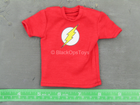 Sheldon Cooper - Red Shirt w/The Flash Logo Detail