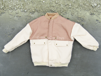 Sheldon Cooper - Tan & Off White Jacket