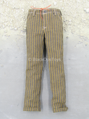 Sheldon Cooper - Brown Striped Pants