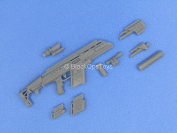 "1/12 - Custom - ""Alpha"" Battle Rifle w/Interchangeable Attachment Set"